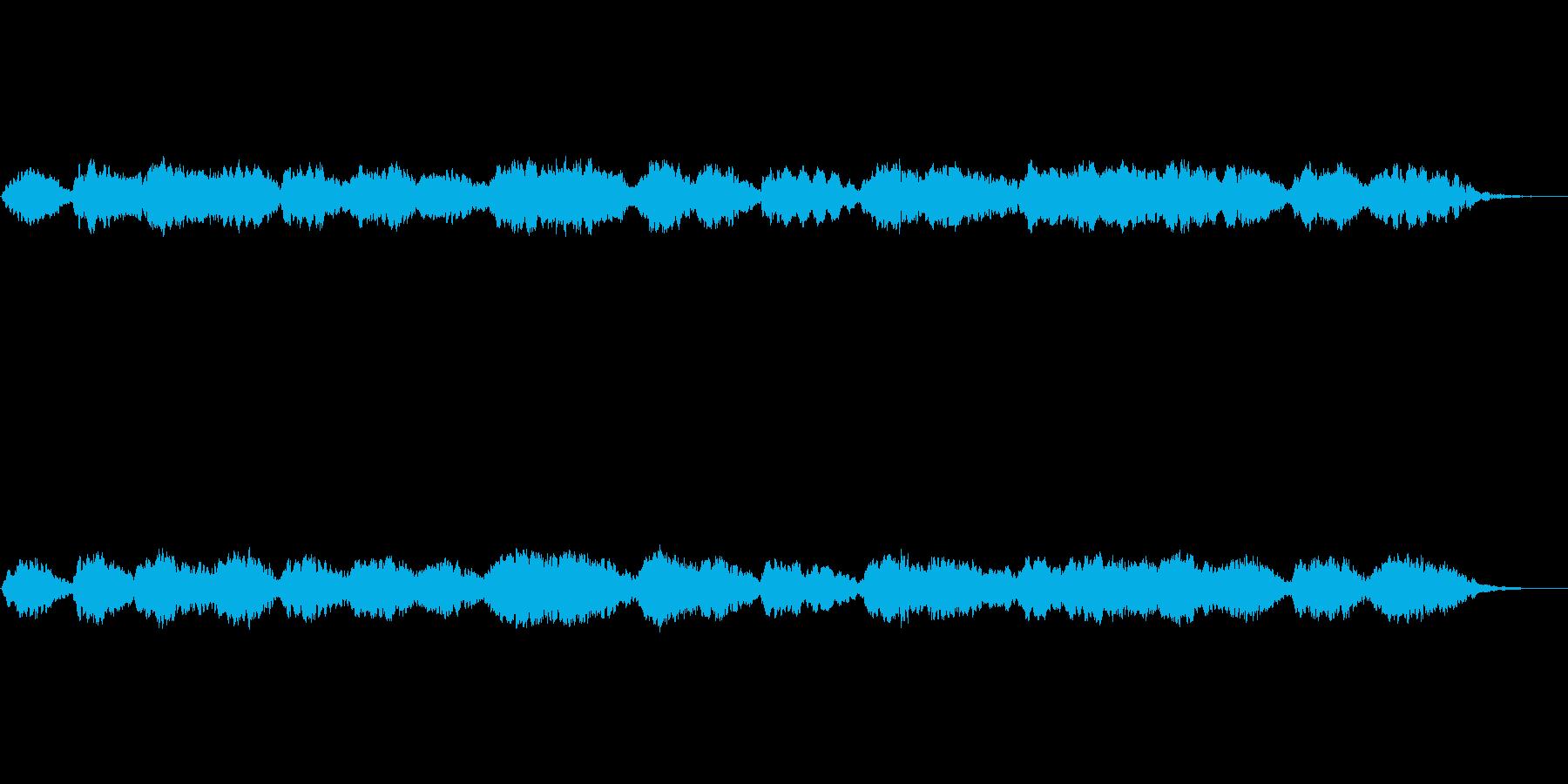 オリジナルのBGMドキュメンタリー風の再生済みの波形