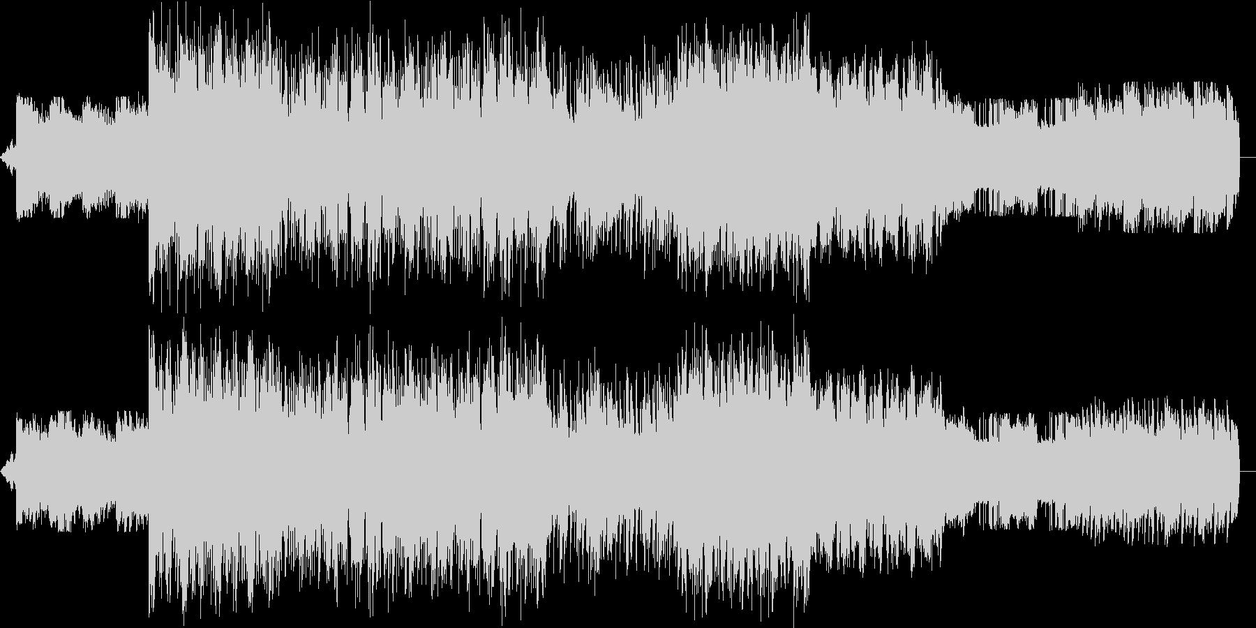 インストゥルメンタル、ヒップホップ...の未再生の波形