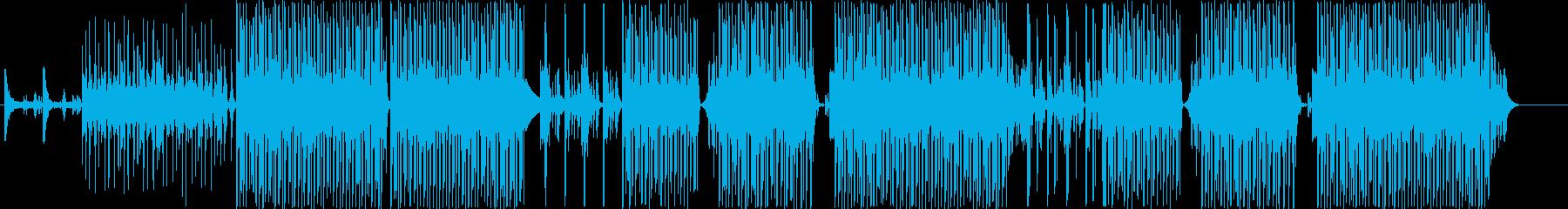レゲトン、ラテンヒップホップ、クラブ系♪の再生済みの波形