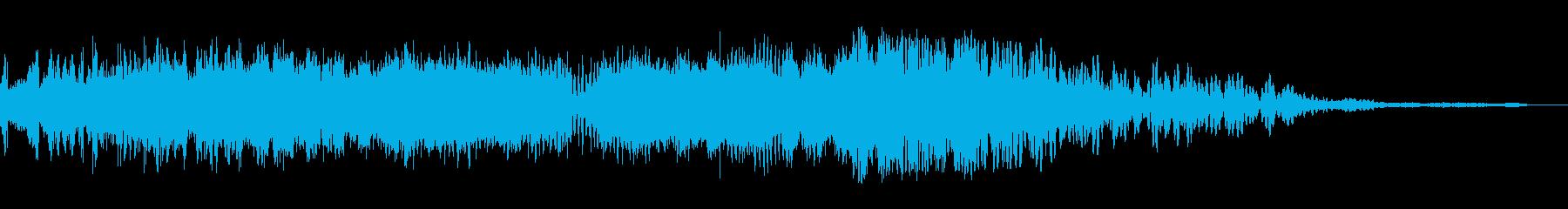 ビッグガーベリングシグナル干渉スイープ1の再生済みの波形