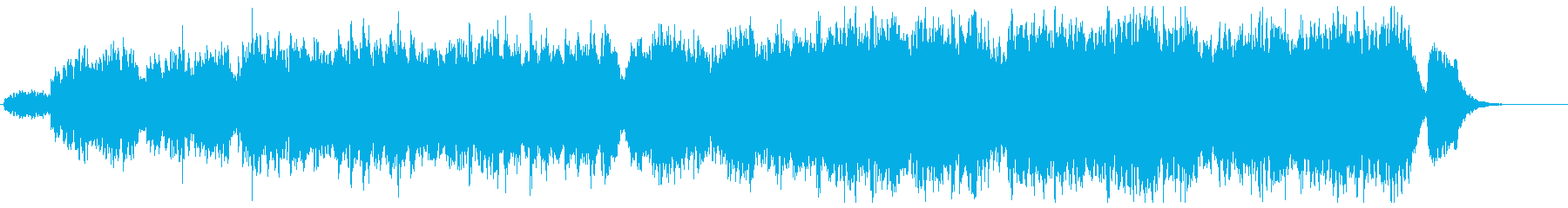 きらきら星(ゆったり)の再生済みの波形