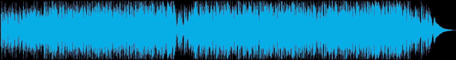 幻想的で雰囲気のあるスムースジャズの再生済みの波形