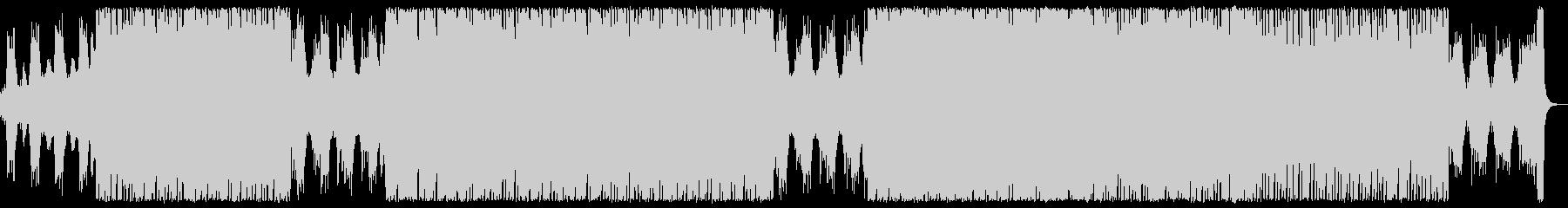 オーケストラとエレクトロニカの爽快ポップの未再生の波形