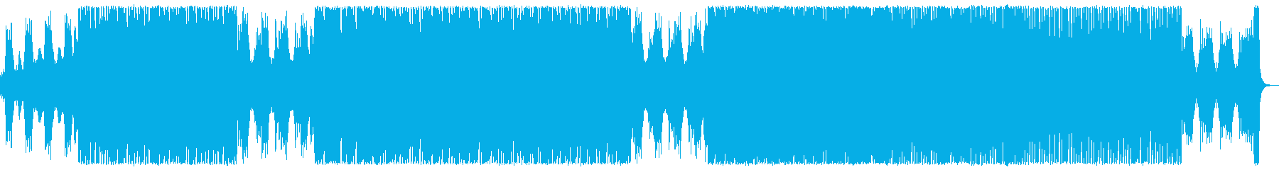 オーケストラとエレクトロニカの爽快ポップの再生済みの波形