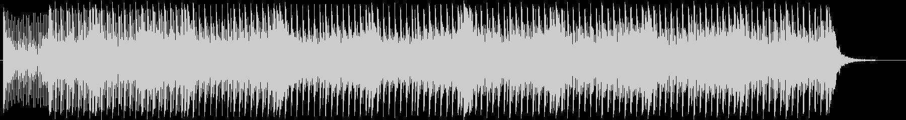 16ビートEDM風和風曲の未再生の波形