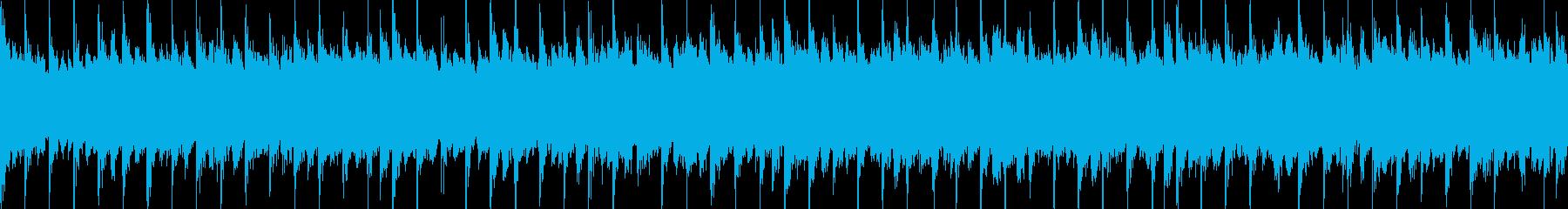 ループ版の再生済みの波形