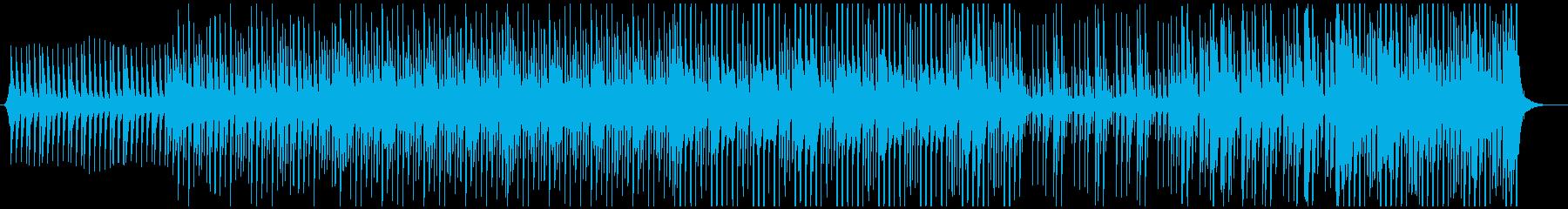 ラテン ジャズ トロピカル アクテ...の再生済みの波形
