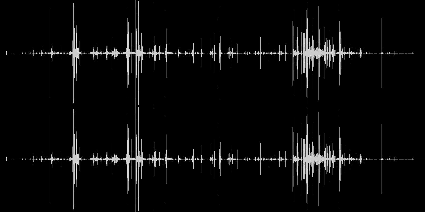 木 スプリンターロー01の未再生の波形