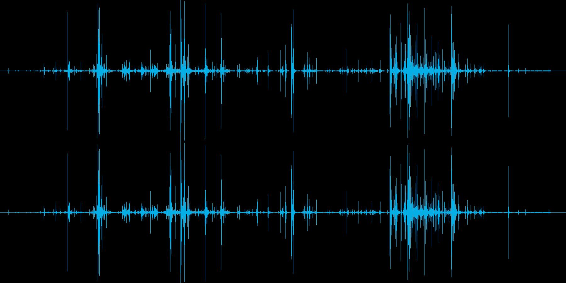 木 スプリンターロー01の再生済みの波形