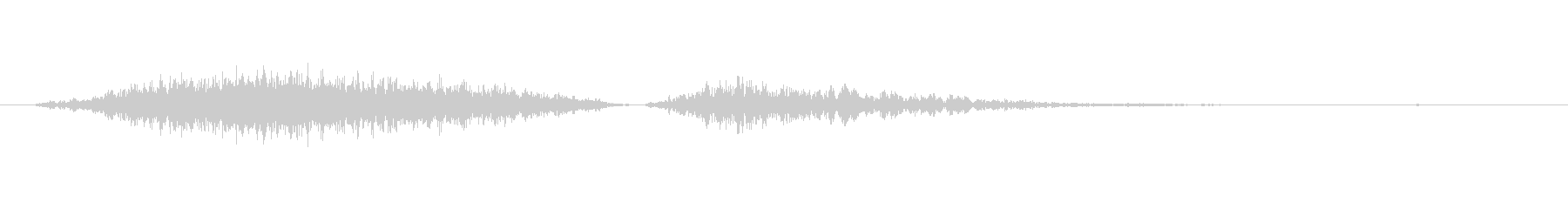 モンスター いびきブレスシングル03の未再生の波形