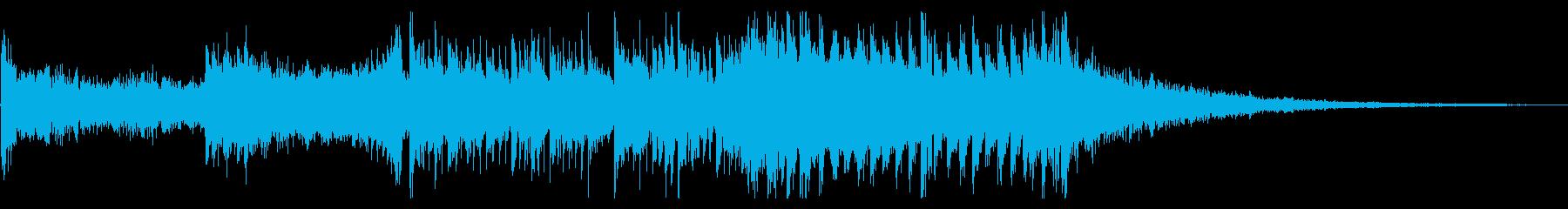 シネマティックで迫力があってカッコいい曲の再生済みの波形