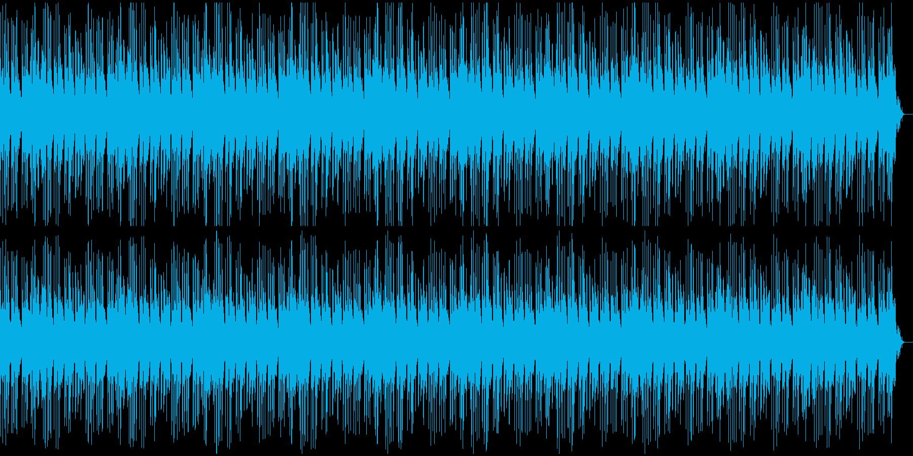 明るく爽やかなピアノ曲の再生済みの波形