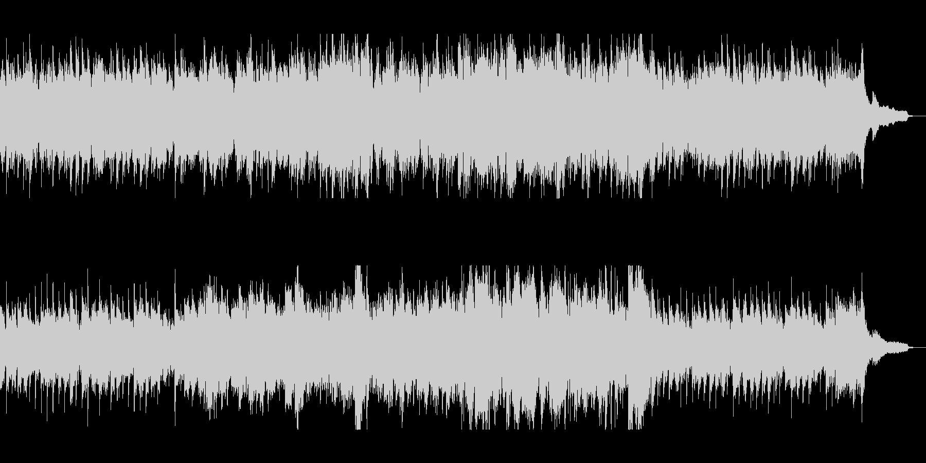 ピアノの素敵な音色の優雅なバラードの未再生の波形