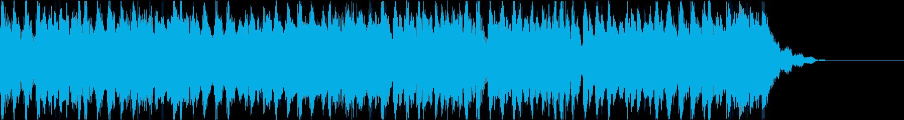 優雅で明るい4つ打ちジングル(短尺A盤)の再生済みの波形