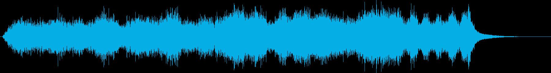 異次元の世界に迷い込んだようなBGMの再生済みの波形