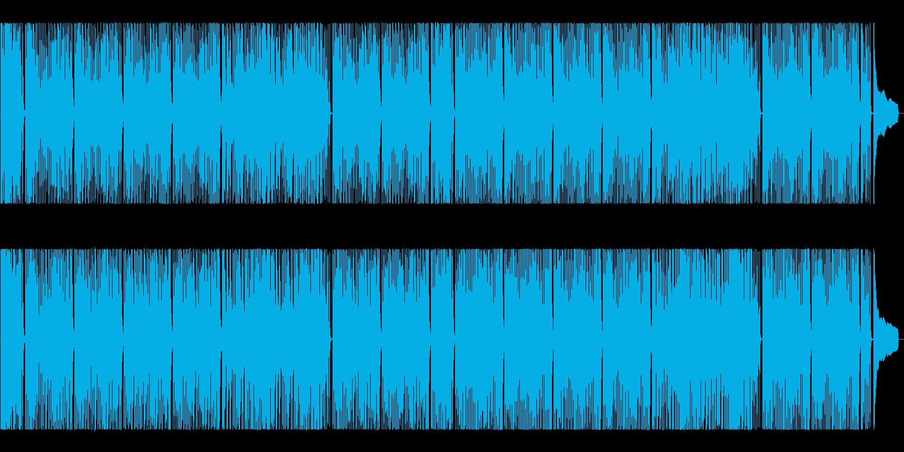 ポップ♪明るくポジティブ、ハッピー!の再生済みの波形