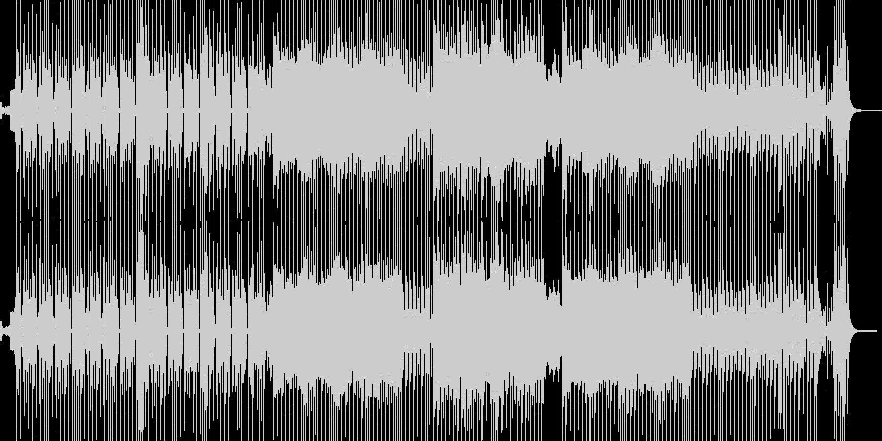 ビターエンドがテーマのスロウテクノ 短尺の未再生の波形