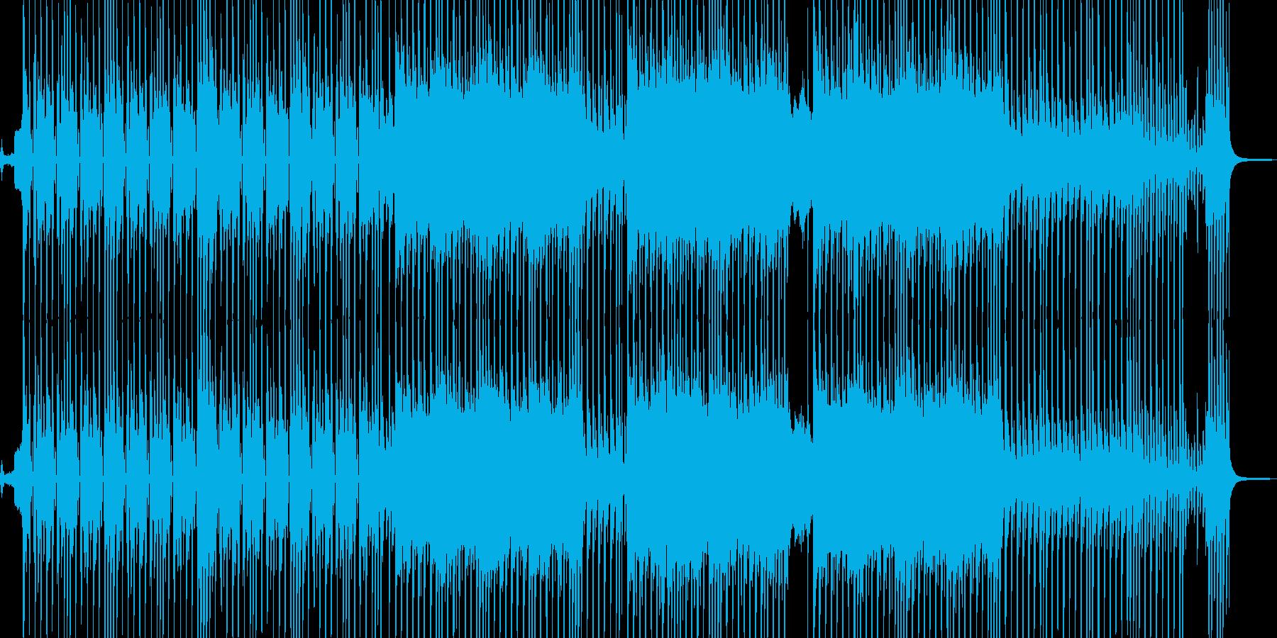 ビターエンドがテーマのスロウテクノ 短尺の再生済みの波形
