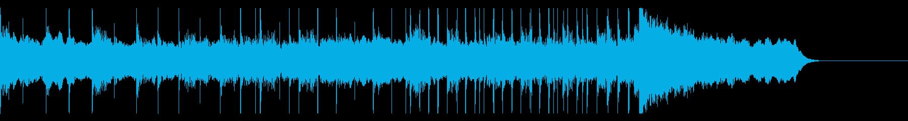 ボイスパーカッションでやさしいBGM2の再生済みの波形