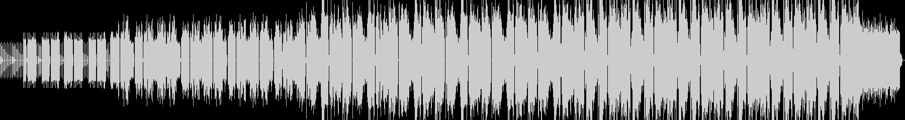 コミカルな1分間ゲームミュージックテクノの未再生の波形