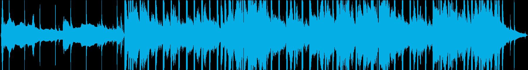 デジタル感のある30秒ジングルの再生済みの波形