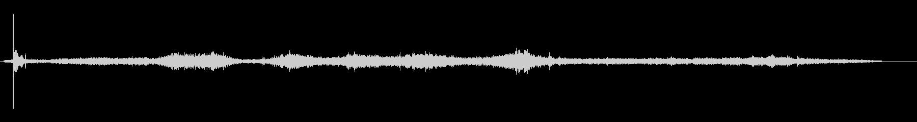 サイレン-掘削-ショートバースト-...の未再生の波形