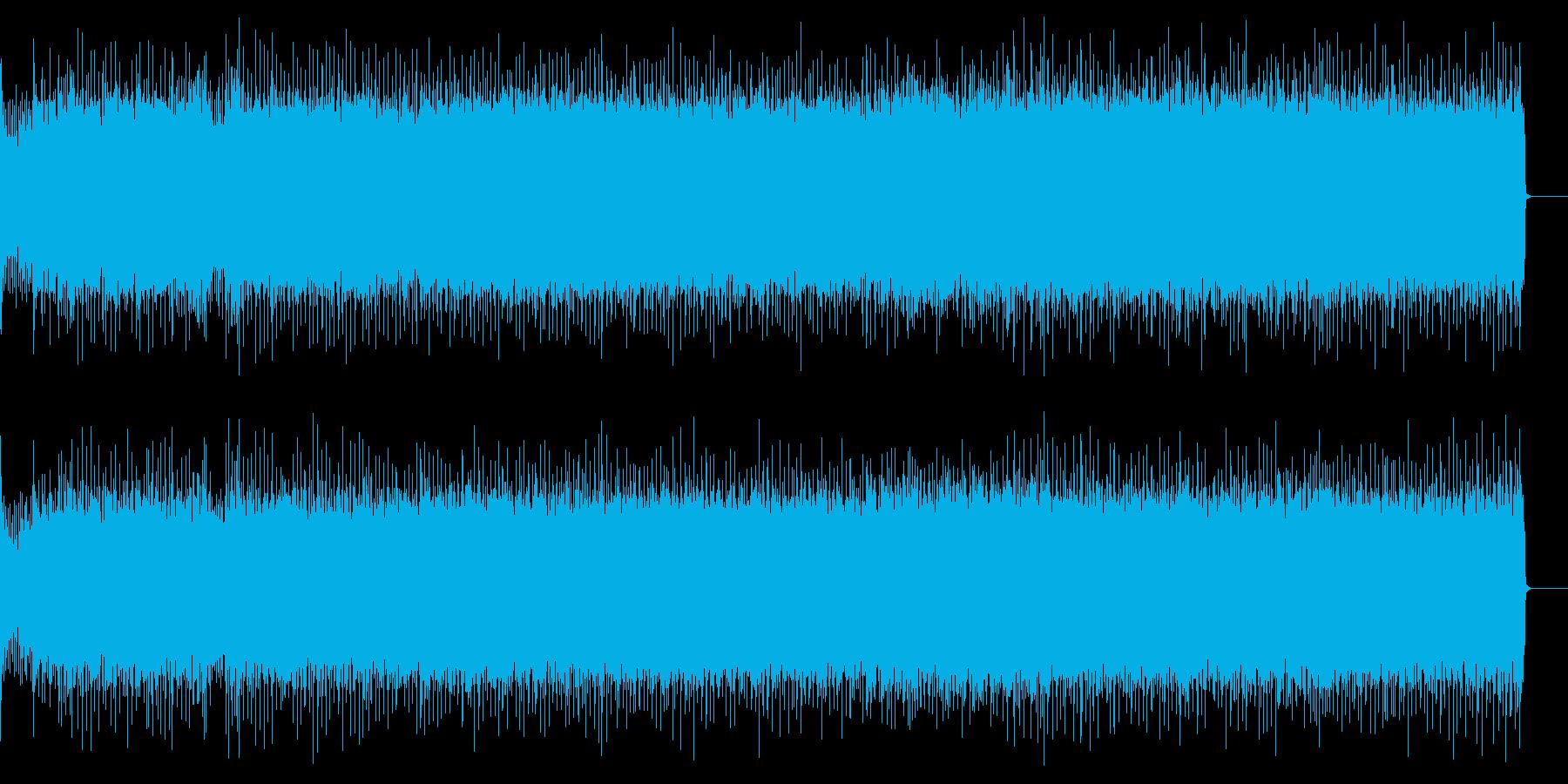 疾走感溢れるハードロック(フルサイズ)の再生済みの波形