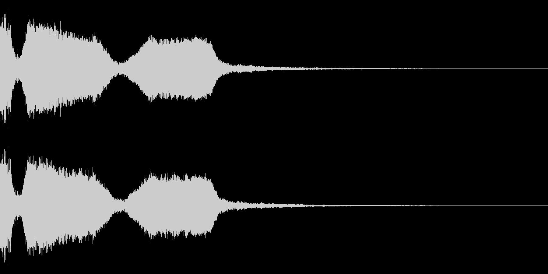 DJFX ヒットチャート発表前SE 6の未再生の波形