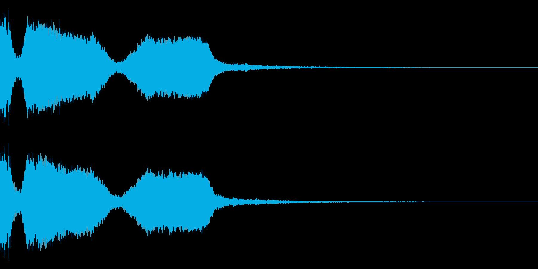 DJFX ヒットチャート発表前SE 6の再生済みの波形