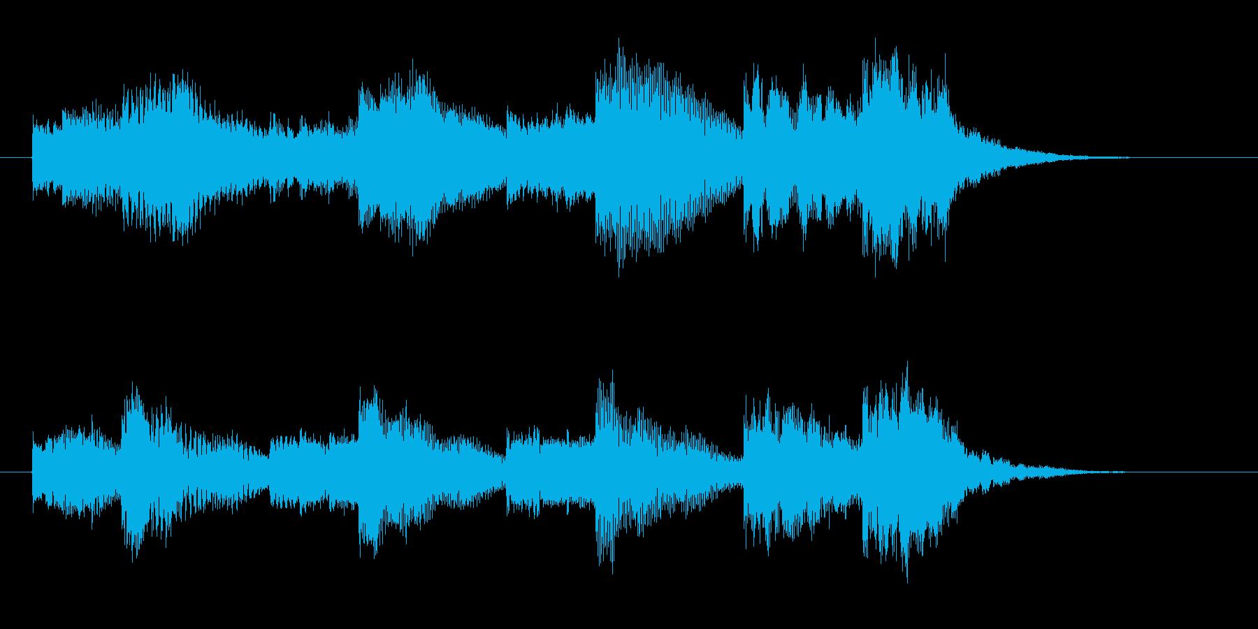 メローで神聖なヒーリングジングルの再生済みの波形