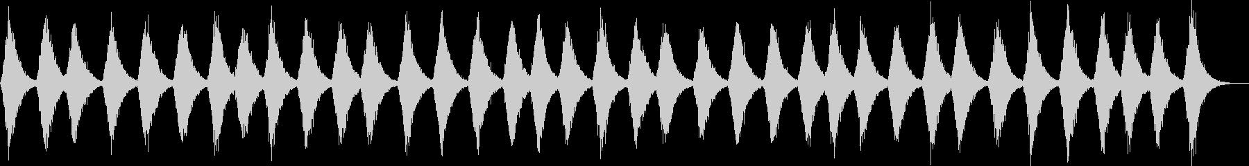 暗い雰囲気の環境音の未再生の波形
