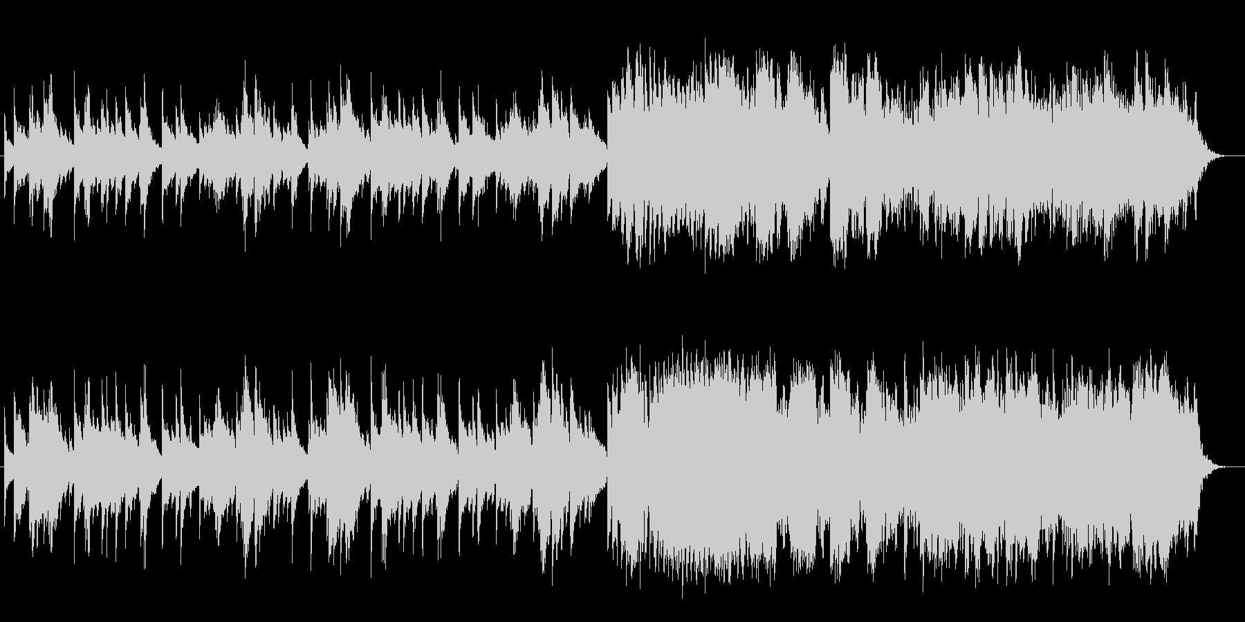 ピアノによる切ないスローバラードの未再生の波形
