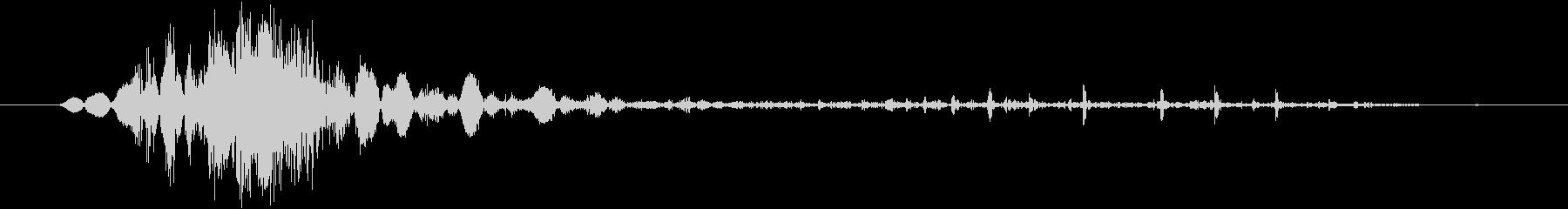 鞭(ムチ)で攻撃する効果音 08の未再生の波形