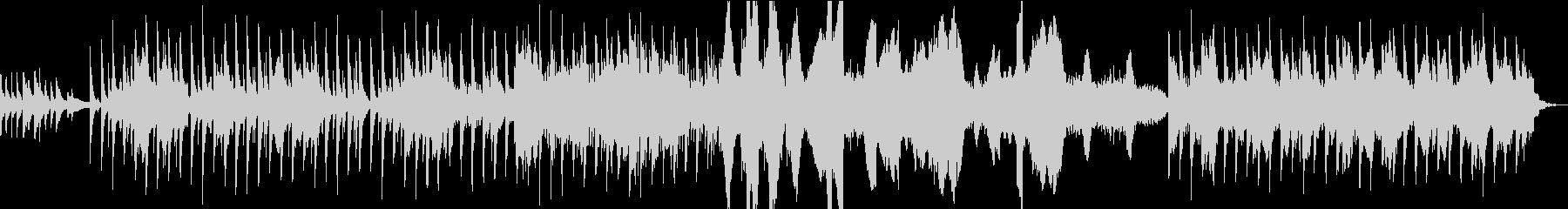 アジアンテイストな不思議なポップスの未再生の波形