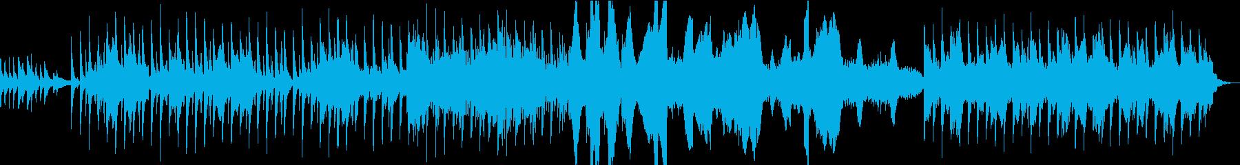 アジアンテイストな不思議なポップスの再生済みの波形