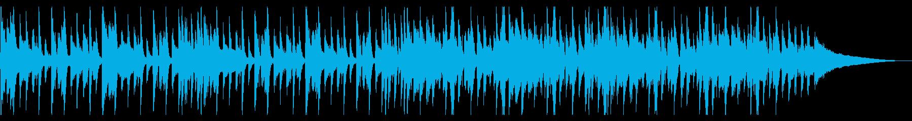 爽やかなハウス_5の再生済みの波形