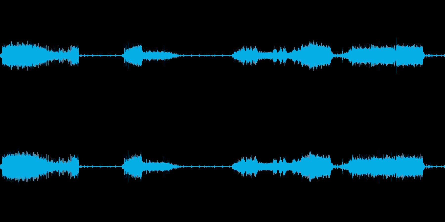 水栓ターンドレン、の再生済みの波形