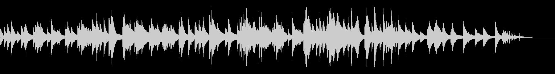 ムードのあるジャズ風ラウンジピアノソロの未再生の波形