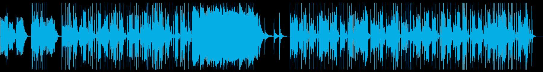 ガムラン風のエスニックで妖しげなインストの再生済みの波形
