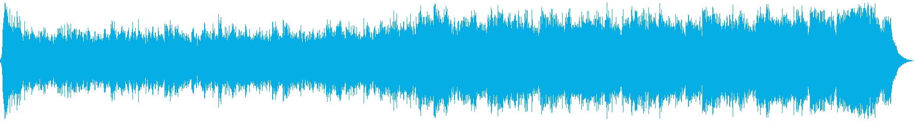 RPG旅立ちオーケストラ 合唱無60秒版の再生済みの波形