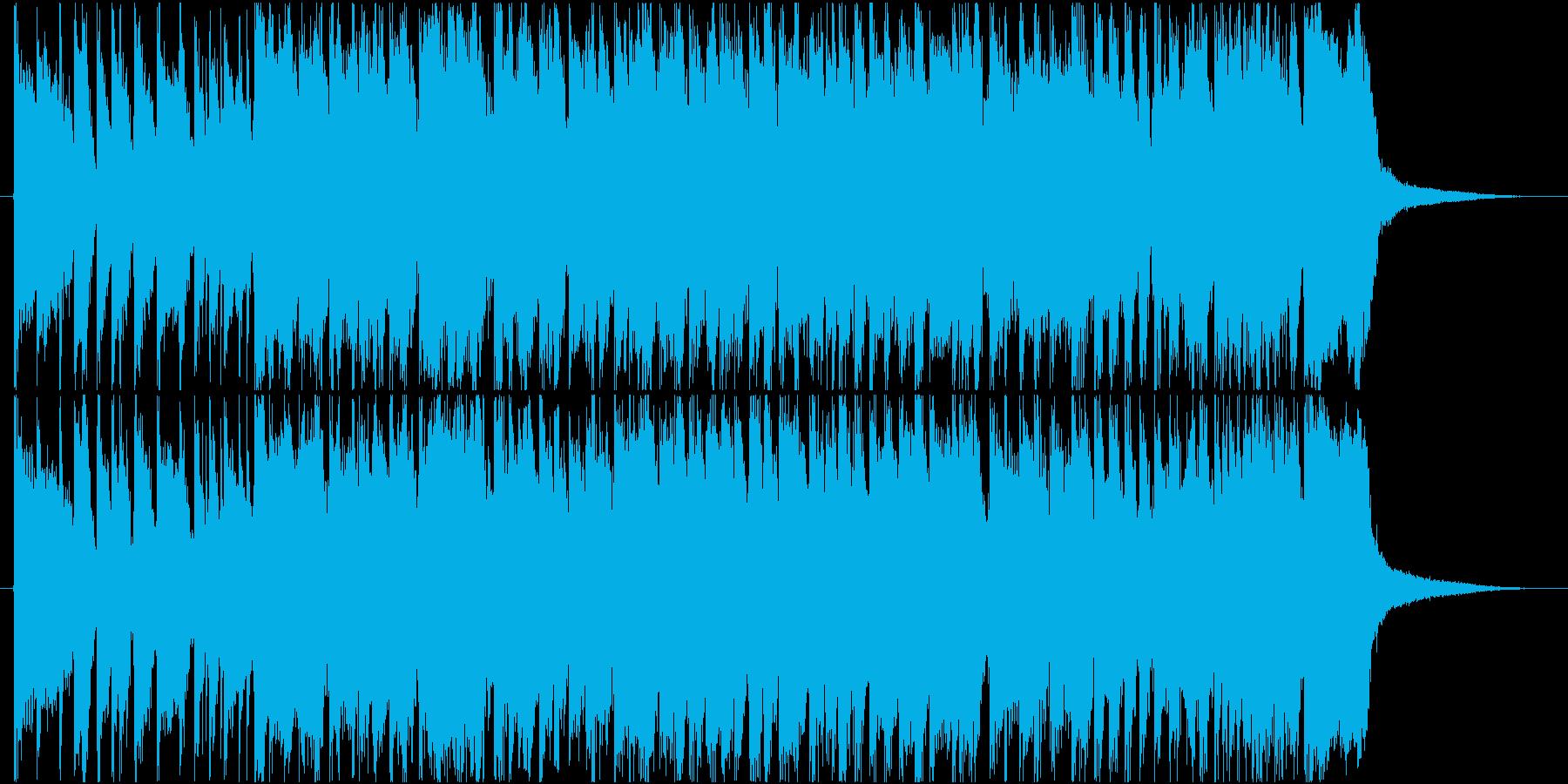 明るい軽快なポップギターロックの再生済みの波形