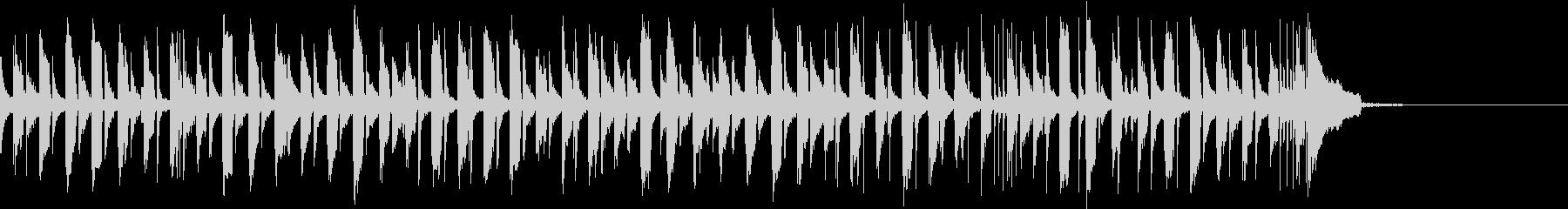ウクレレ&トイピアノのかわいいジングルの未再生の波形