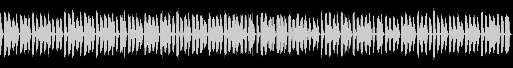 ほのぼのした日常 リコーダーとピアノ楽曲の未再生の波形