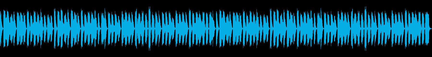 ほのぼのした日常 リコーダーとピアノ楽曲の再生済みの波形