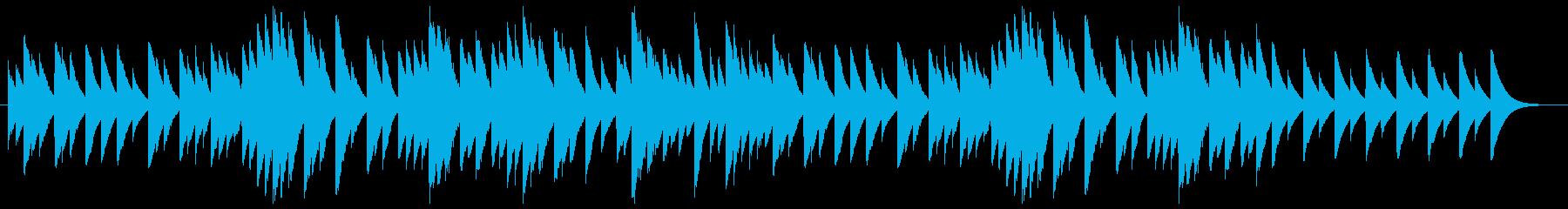 ミステリーのオルゴールのようなサウンドの再生済みの波形
