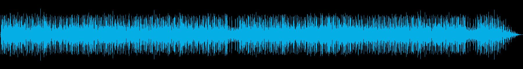 実験的。遠いリズム。ピアノプレゼント。の再生済みの波形