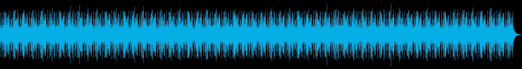琴の乃木調子を使った和風な京都っぽい曲の再生済みの波形