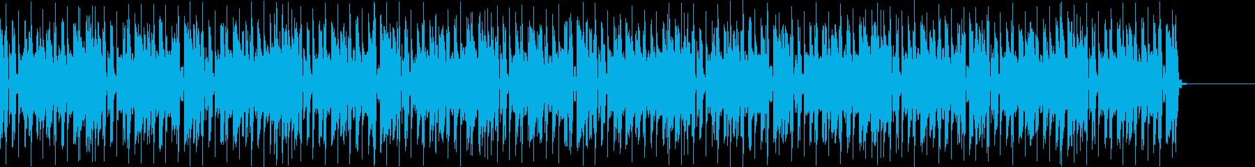 不安定感漂うメロディのシンセポップの再生済みの波形