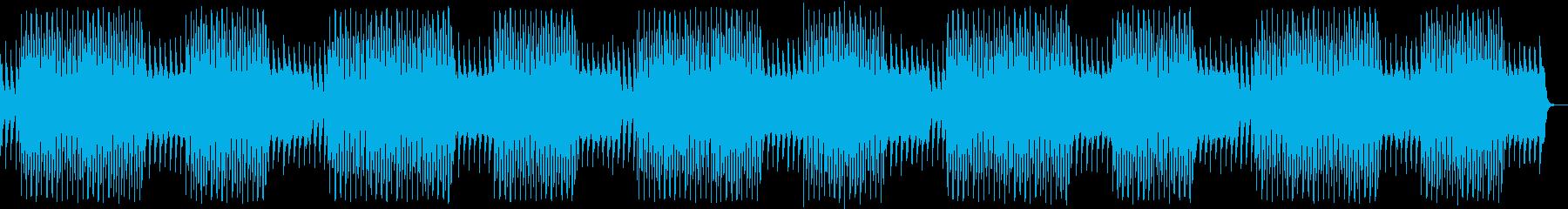爽やかなチルアウトの再生済みの波形