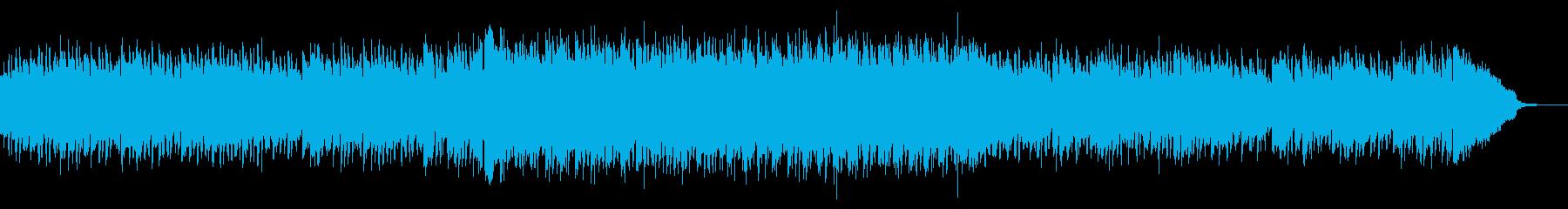 エキサイティングな夏のCM用ハウスの再生済みの波形